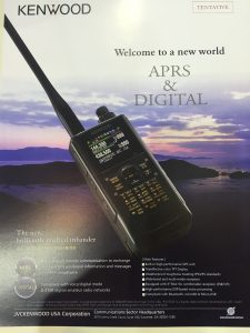 Kenwood Tri-band DSTAR HT Brochure